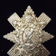 WWI Badge Scottish Black Watch