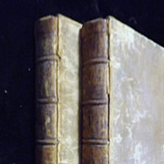 Law Tracts in Two Volumes By William Blackstone, Esq.  1762 First Edition
