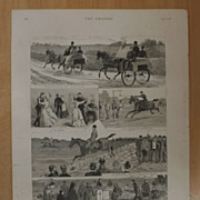 Disturbed Ireland - A visit To The West - The Graphic 1887