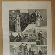 Matrimonial Adventures Of A Hospital Nurse - The Graphic 1887