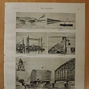 The Works Of The New Tay Bridge, Scotland, - The Graphic 1887