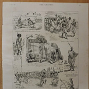 The Town And People Of Zaila, Somali Coast - The  Graphic 1887