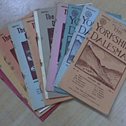 The Yorkshire Dalesman Magazine 11 Issues 1940