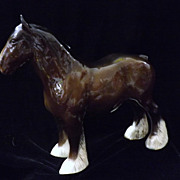 Large Beswick Shire Horse