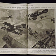 SOLD WWI Aerial Warfare -Illustrated London News 1918