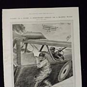 WWI Aerial Warfare -Illustrated London News 1918