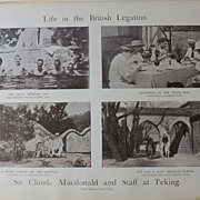 Life in The British Legation at Peking -The Army & Navy Illustrated 1900