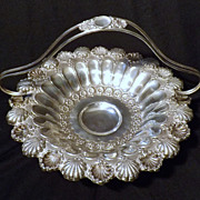 Stunning Portuguese .833 Silver Brides Basket Center Piece