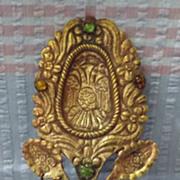 Peruvian 'TUPU' Andean Shawl Pin Clasp  - Circa 1900