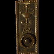 Victorian Art Nouveau Bell Push