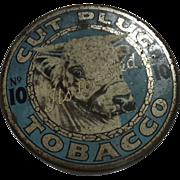Tobacco Tin Cut Plug No. 10 - New Zealand