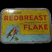 Tobacco Tin  Ogden's 'Redbreast' Flake