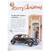 Art Deco 'FORD V-8' Advertisement  - The Sphere 1936