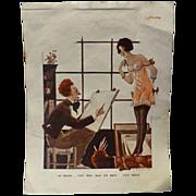 Risque French Cartoon - Le Sourire Magazine 1920's-1930's
