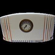 French Art Deco Clock Circa 1920's -1930's