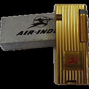 Air India Advertising Cigarette Lighter - Mint Unused