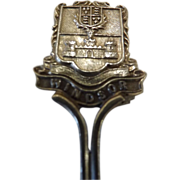 1909 Windsor Silver Souvenir Teaspoon