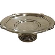Art Deco Sterling Silver TAZZA - Hall Marked 1936