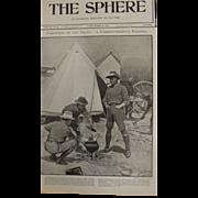 Original  Page Boer War 'Christmas On The Veldt' - The Sphere Dec.1900
