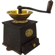 Victorian Coffee Grinder By J & J Whitehouse England