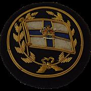 Orient Steam Navigation Co  Stewards Badge Circa 1920's