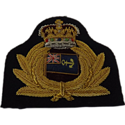 SOLD British Royal Maritime Auxiliary Service Cap Insignia