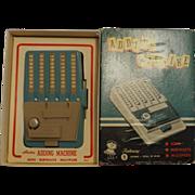 HASBRO Adding Machine-Boxed - 1960's