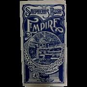 "Theatre Program ""The Shepherds Bush Empire"" 1917"