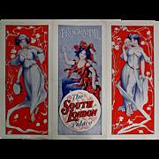 "Theatre Program ""The South London Palace"" Circa 1915"