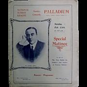 The Palladium Oxford Circus - Special Matinee Theatre Program 1916