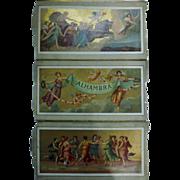 "Theatre Program ""Alhambra Theatre of Varieties"" London 1898"