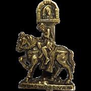 Lady Godiva Door Knocker Circa 1910
