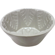 Large Ceramic Victorian Jelly Mold
