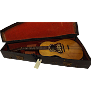 SOLD An English Mandolinetto - Edwardian Period Circa 1905