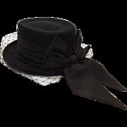 Ladies English Dressage Hat