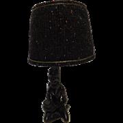 Black Girl Retro Table Lamp - 1970's