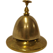 Early 1900's Brass Counter Bell