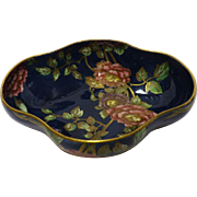 Stunning MALING Lustreware Footed Fruit Bowl - DECO