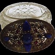 Ornate 19th Century Ladies Jewelry Casket - European