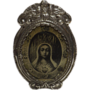 Peruvian 925 Grade Colonial Style Silver Photo Frame - Circa 1930 - 1940