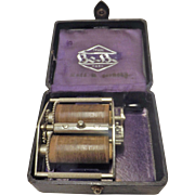 German Be-Be Razor Blade Sharpener - Early 1900's