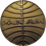 PAN AM Ground Personnel Badge