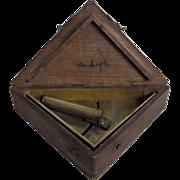 Clinometer / Artillery Range Finder - Turkish World War One