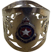 SOLD RMS Corinthic Napkin Ring - White Star Line