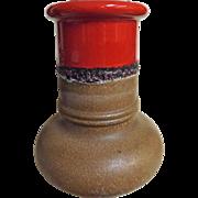 STEULER Keramic Mid Century FAT LAVA  Floor Vase