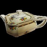 Art Deco Teapot By W.H. Grindley -England Circa 1925-1930