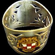 S.S. Empress of Scotland Souvenir Napkin Ring - Canadian Pacific Line.