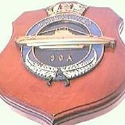 Vintage OCA  Navy Submarine  Plaque