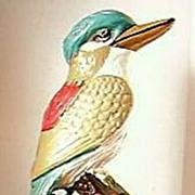 """AUSTRALIANA Large Plaster Kookaburra """"Happy Jack"""""""