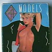 "Vintage ""MODELS"" Girlie Playing Cards 1970's"